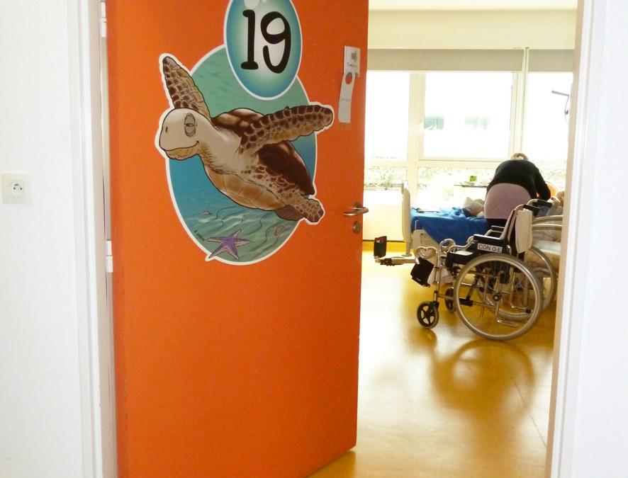 Signalétique ludique pour orienter les petits patients