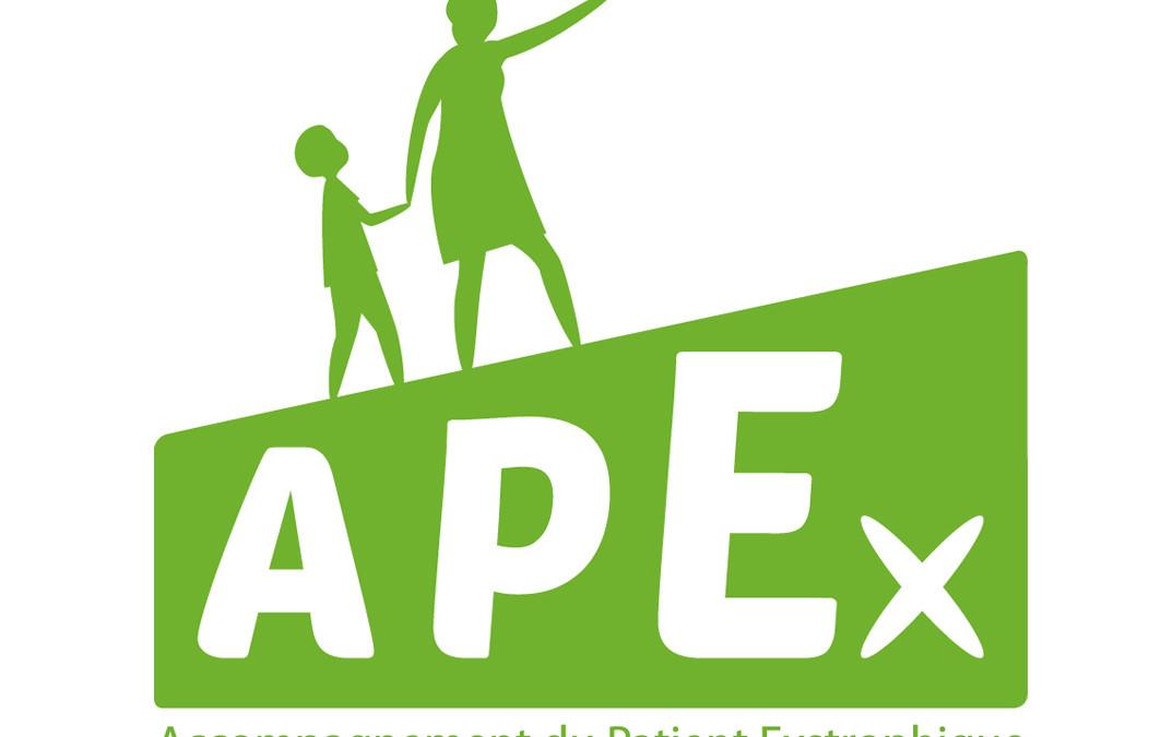 Nouveau logo et plaquette pour l'association APEX