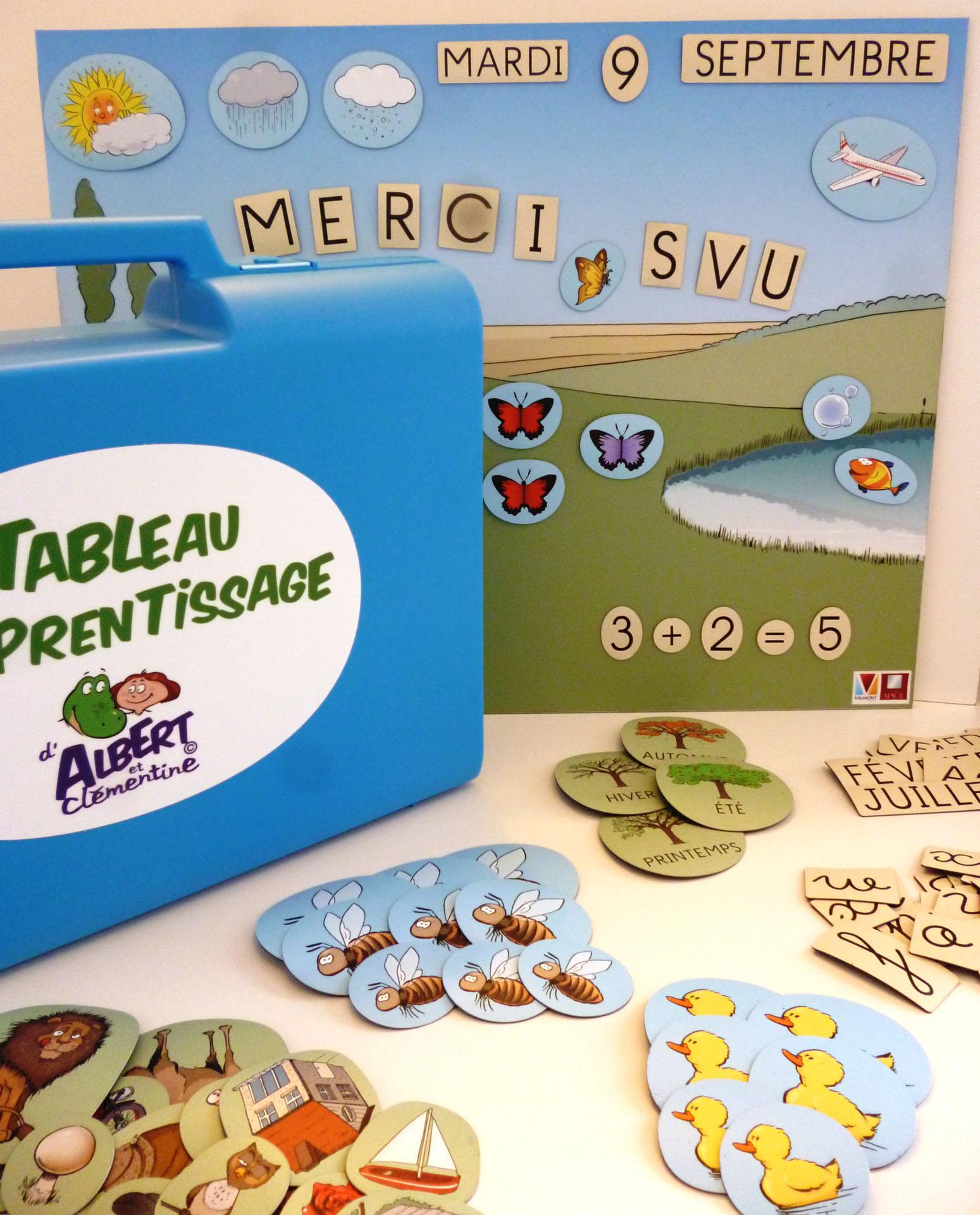 Outil pédagogique pour les écoles à l'hôpital, à fixer ou transportable